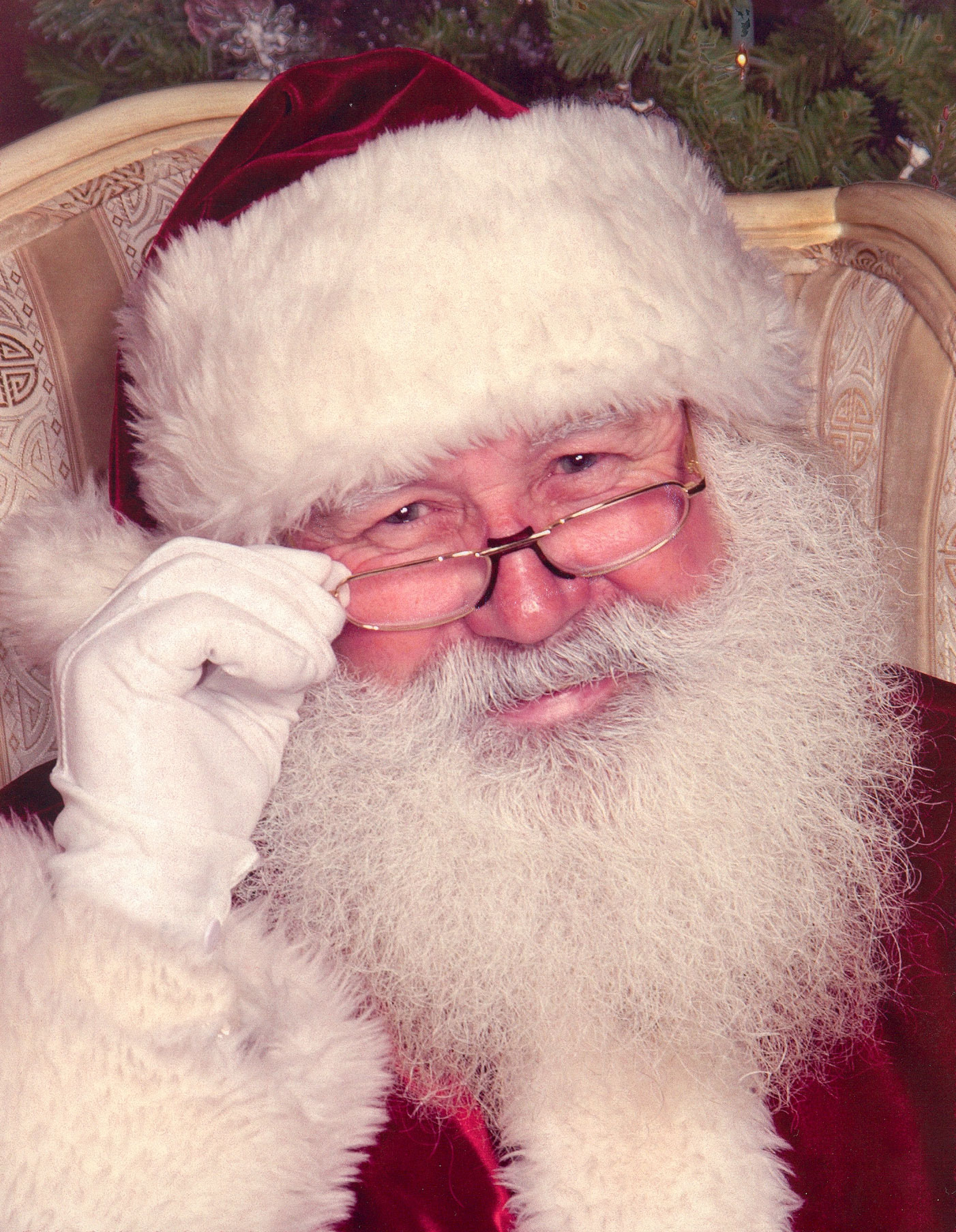 Santa Claus at the Tacoma Holiday Food & Gift Festival
